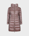 Womens IRIS Winter Coat in Misty Rose