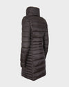 Womens IRIS Winter Coat in Brown Black