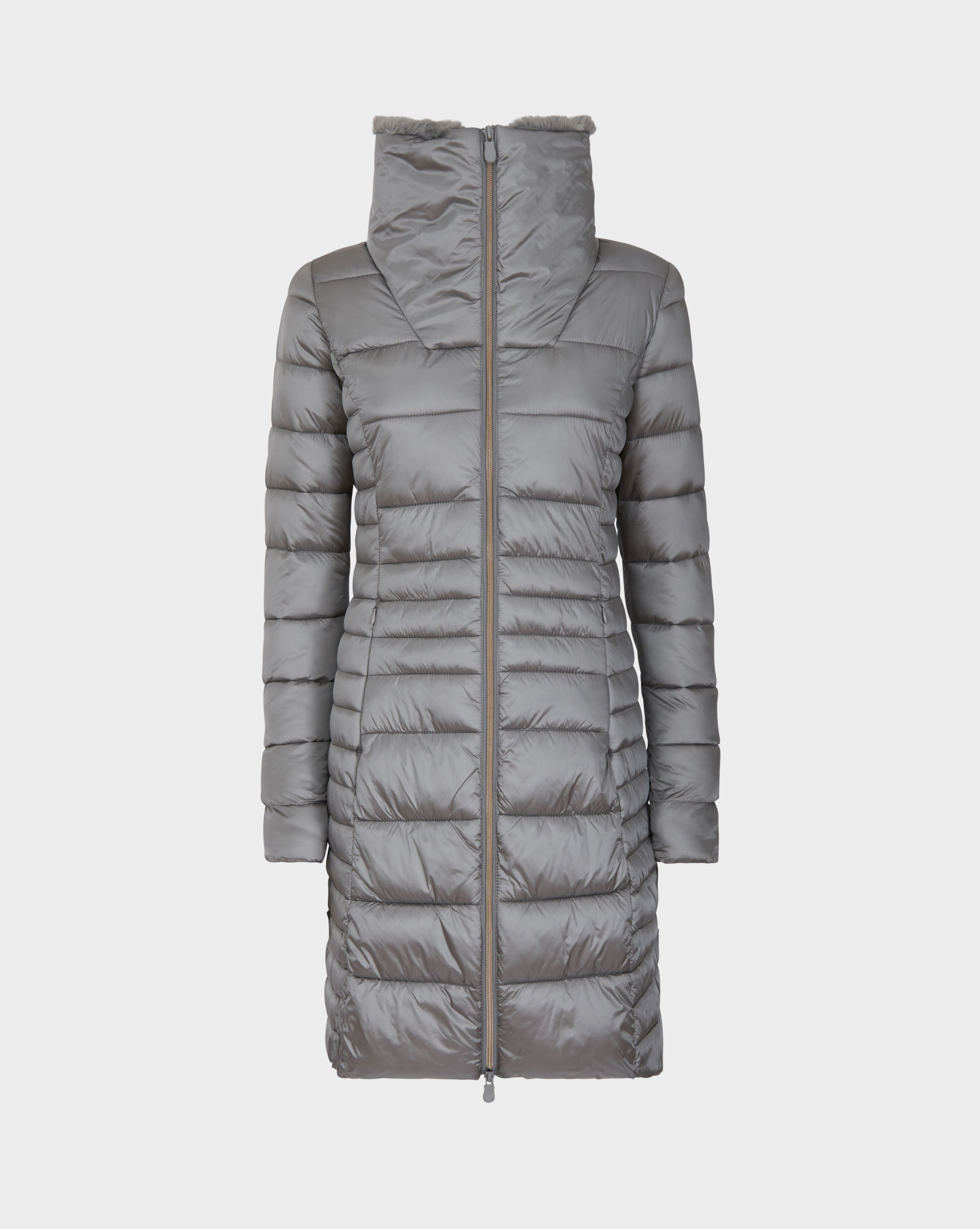 Womens IRIS Winter Coat in Shark Grey