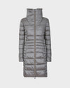 Women's IRIS Winter Coat in Shark Grey