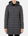 Save The Duck Women's ANGY Coat with Detachable Hood
