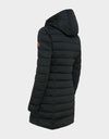Womens SOLD Knitted Hooded Coat in Black