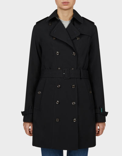 Womens GRIN Coat in Black
