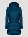Save The Duck Womens Coat-S4342W-RECY6-722 Midnight Blue