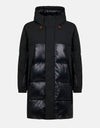 Men's Hooded Puffer Coat in LUMA
