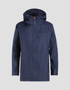 Womens RAIN Coat in Navy Blue