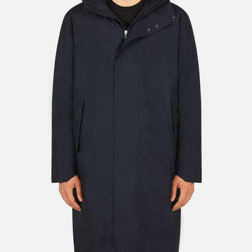 Save The Duck Men's Hero Minimalist Hooded Parka