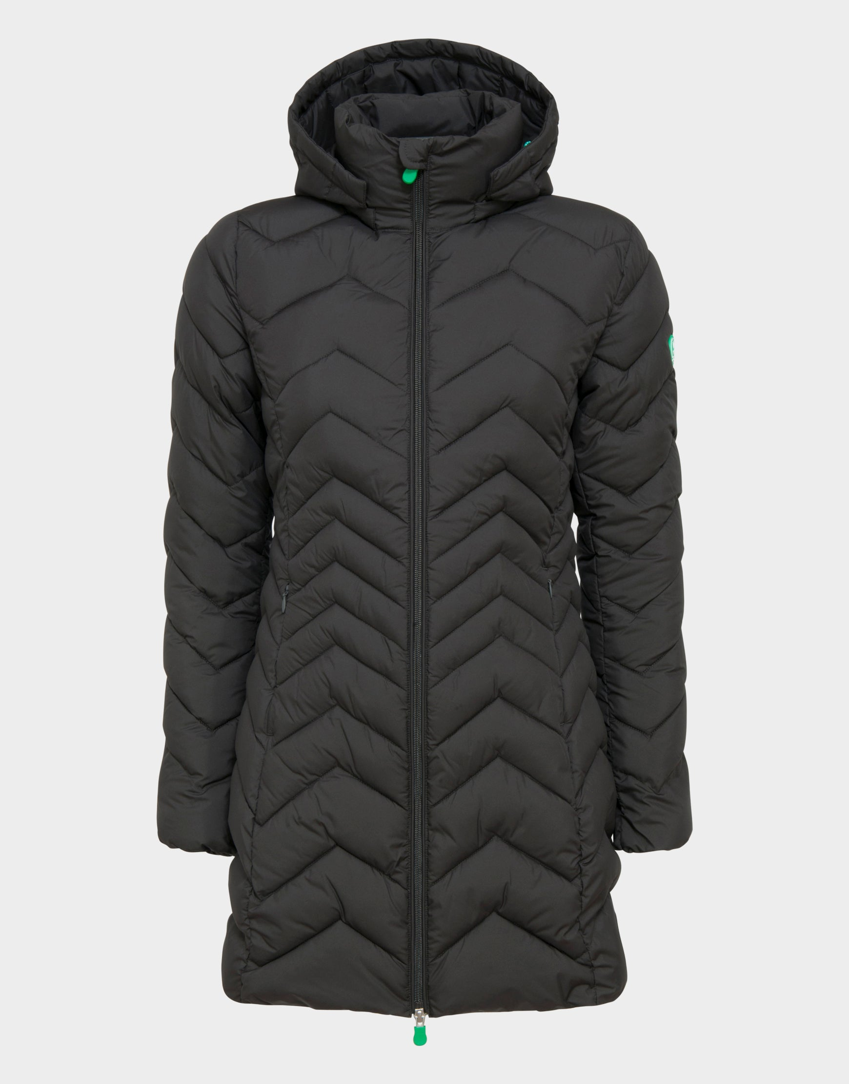 9046ba1d394c94 Save The Duck Womens Hooded Coat - Save the Duck