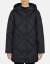 Save The Duck Women's MEGA Oversized Hooded Coat