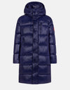 Men's Hooded Puffer Coat in LUCK