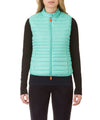 Women's Vest in Aqua Green