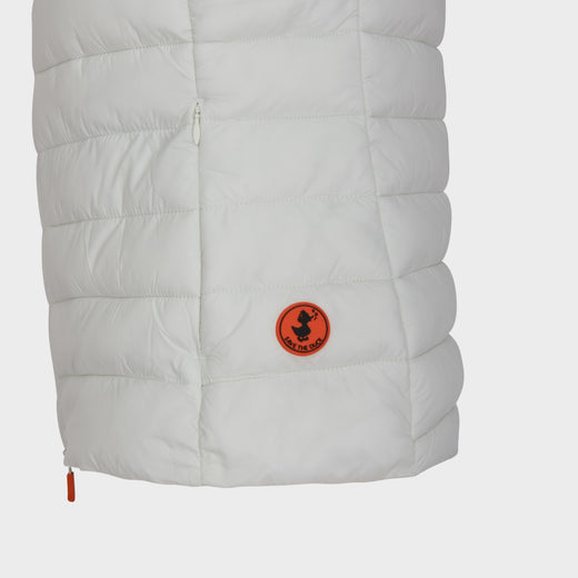 Women's GIGA Vest in Off White