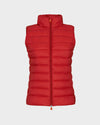 Womens GIGA Vest in Cranberry Red