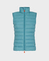 Women's GIGA Vest in Agata Green
