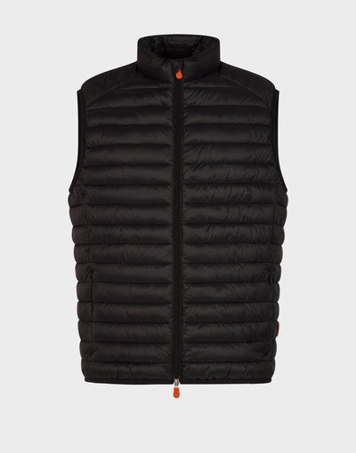 Mens GIGA Puffer Vest in Black