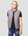 Save The Duck Mens Vest-S8394M-RECY6-15 Mid Grey