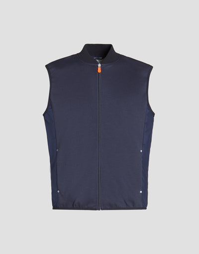 Save The Duck Mens Vest-S8400M-FEEL6-146 Blue Black