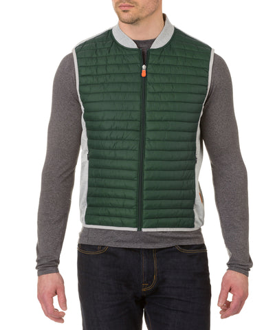 Men's Vest in Forest Green