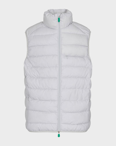 Mens RECY Vest in Frozen Grey