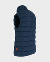 Men's Angy Vest in Navy Blue Melange