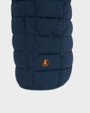 Mens ANGY Vest in Navy Blue Melange