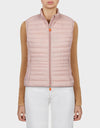 Womens GIGA Vest in Blush Pink