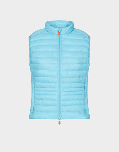 Womens GIGA Vest in Atoll Blue