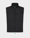 Mens RECY Vest in Black