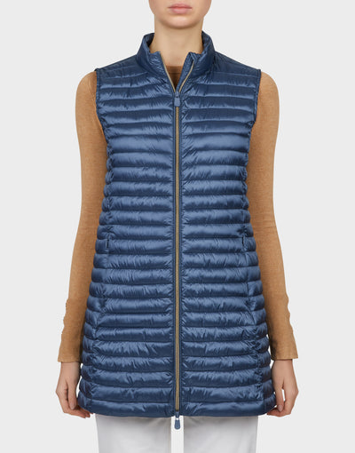 Womens IRIS Vest in Space Blue