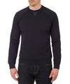 Men's Sweatshirt in Blue Black