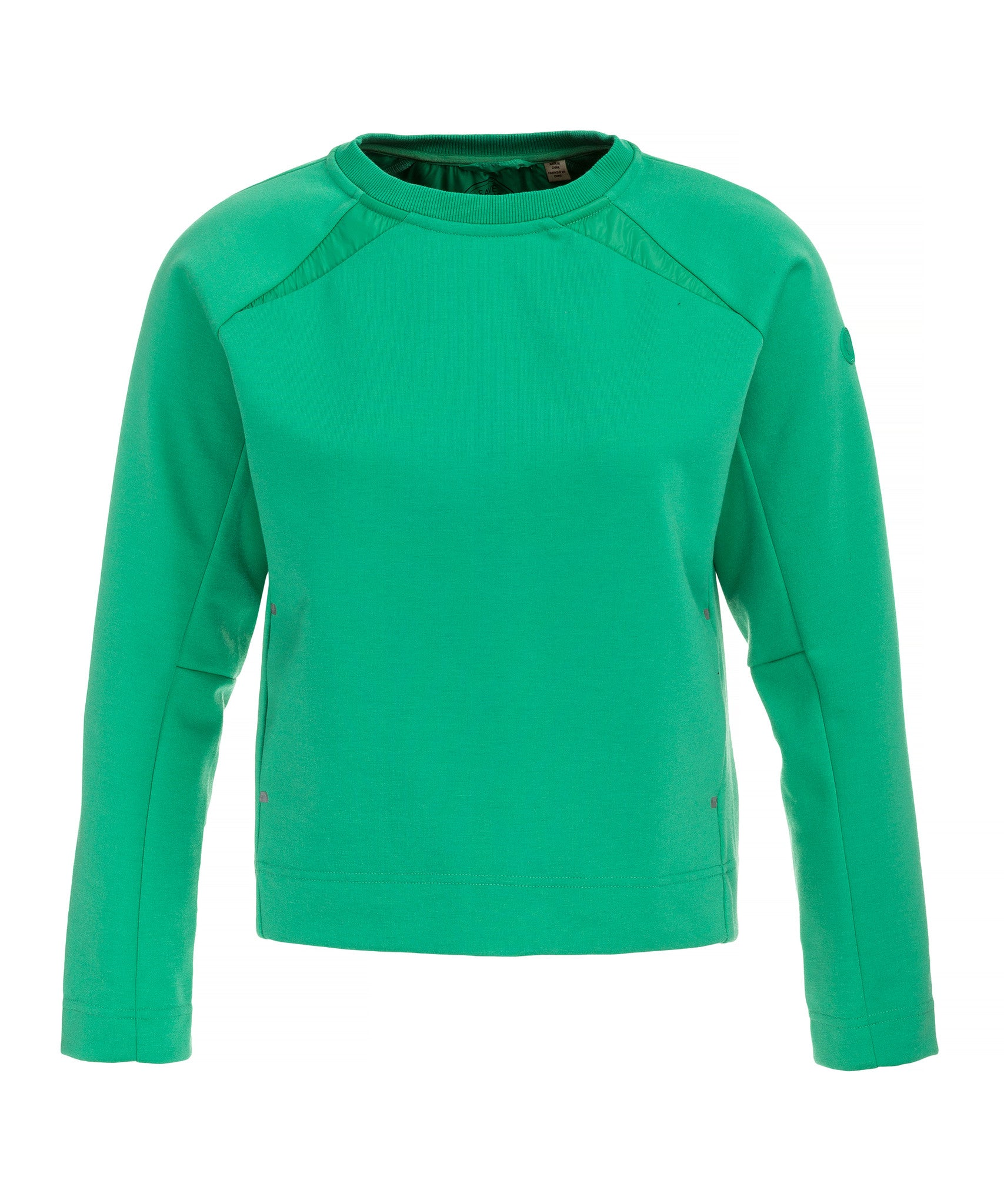 207fc676 Save The Duck Women's Sweatshirt in Bright Green - Save the Duck