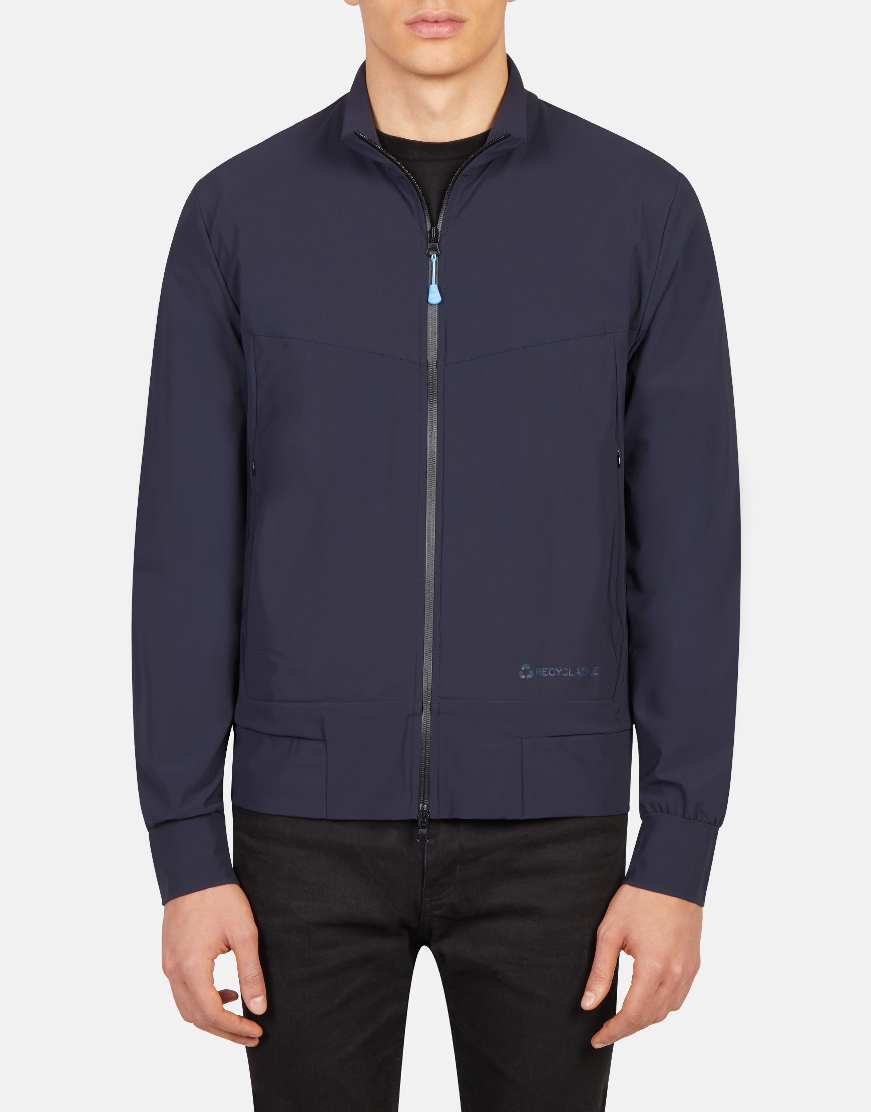 Save The Duck Mens RETY Mandarin Collar Hoody