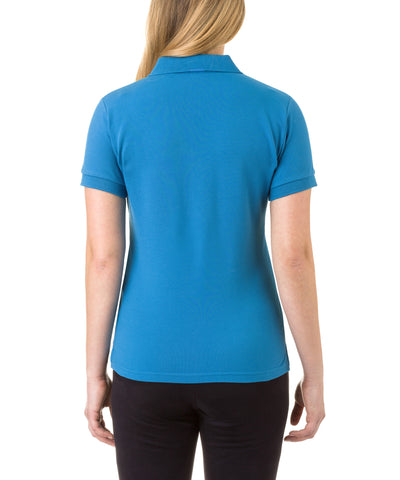 Women's Polo in Ocean Blue