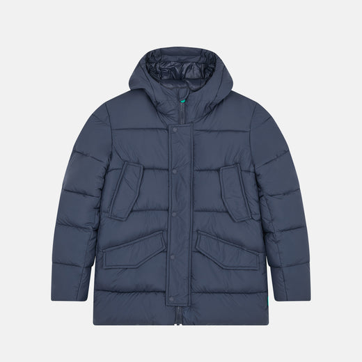 Lightweight Boys Hooded Jacket in RECY from Recycled Bottles