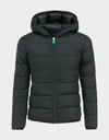 Girls RECY Hooded Jacket in Black
