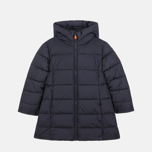 Girls Hooded Puffer Jacket in MEGA
