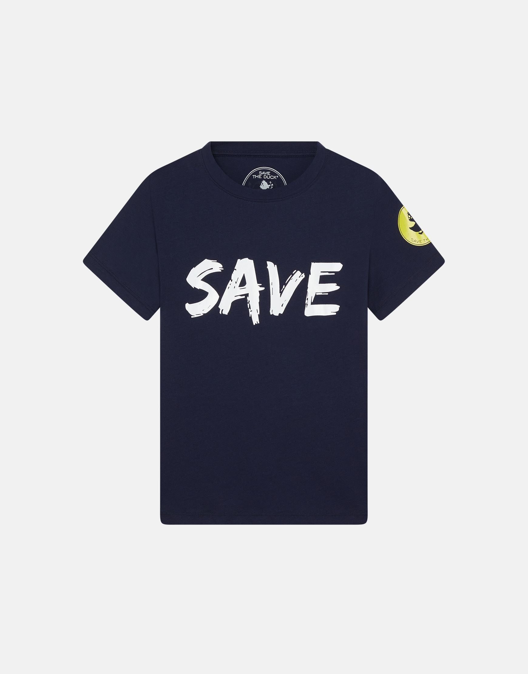 Save The Duck Boys JESY Front and Back Printed T-Shirt