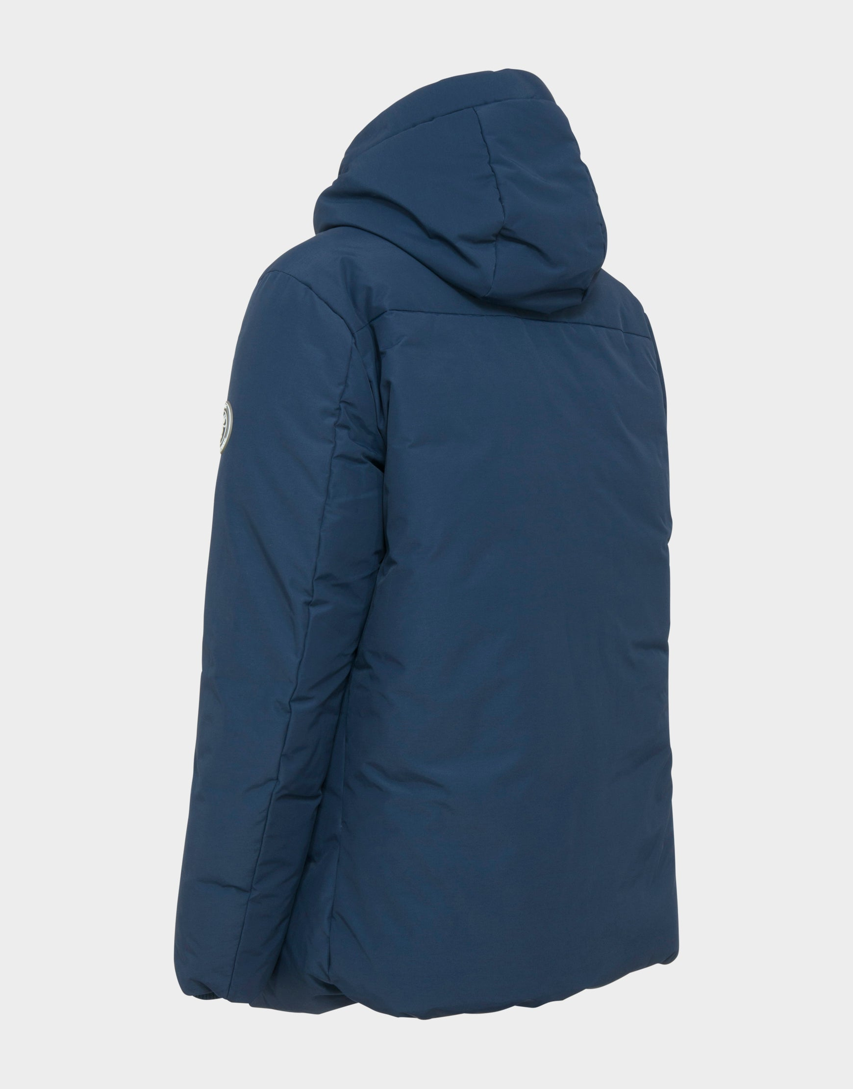 ff24f611cba Mens COPY WINTER Hooded Parka in Navy Blue