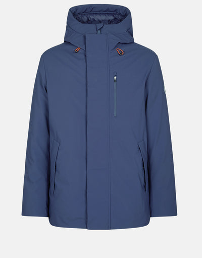 Save The Duck Men's SMEG Winter Hooded Minimalist Parka