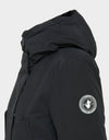 WOMENS COPY WINTER HOODED PARKA IN Black