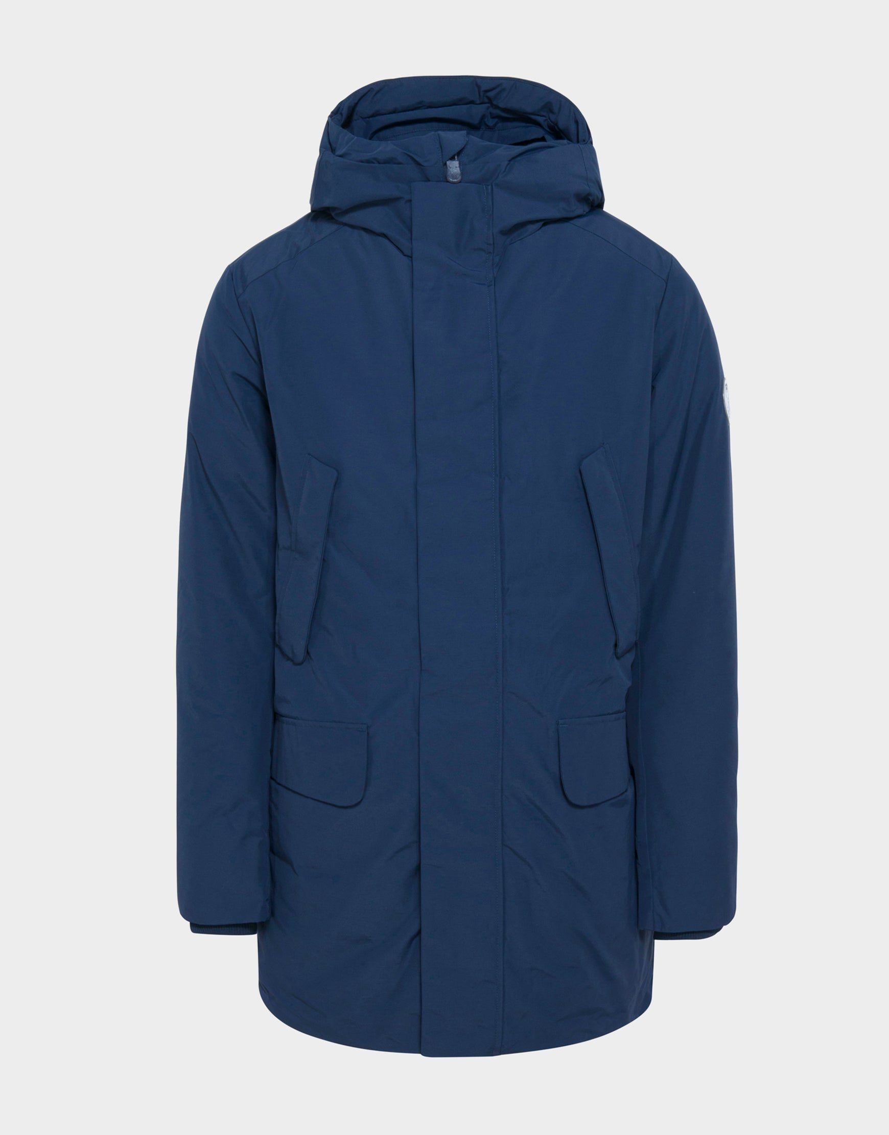 fc6c1d81b62 Mens COPY Winter Hooded Parka in Navy Blue