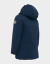 Girls COPY Winter Hooded Parka in Navy Blue