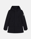 Boy's Hooded Coat in SMEG