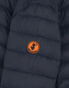 Boy's Hooded Puffer Jacket with Faux Sherpa Lining in GIGA