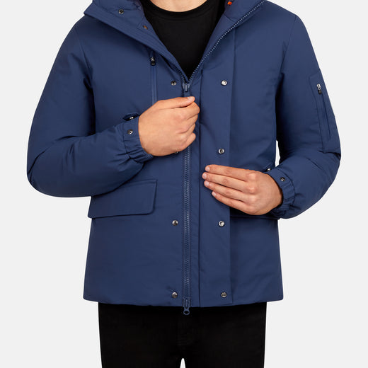 Men's SMEG Winter Hooded Practical Parka