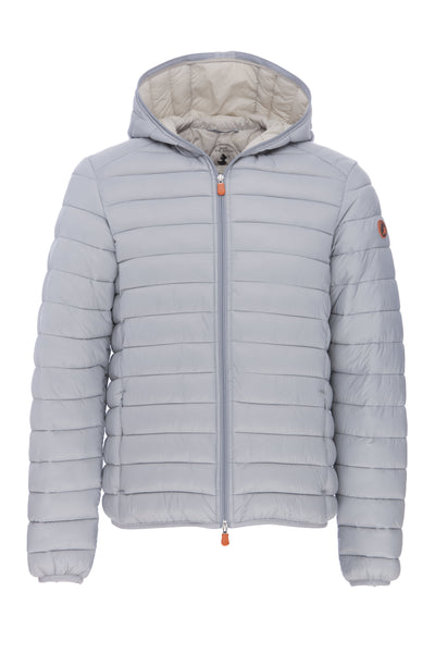 Men's Hooded Jacket in Frost Grey