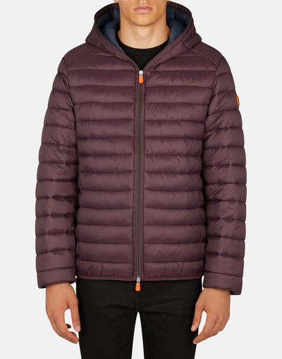 Save The Duck Men's GIGA Ultralight Hooded Puffer Jacket