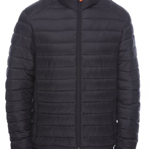 Men's Puffer Jacket in Black