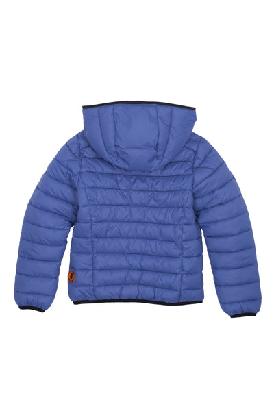 Boy's Reversible Puffer Jacket in Black