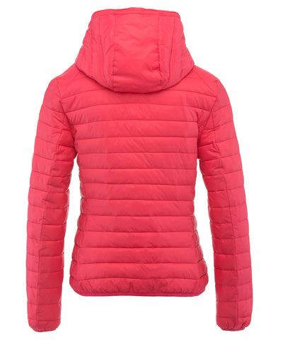 Women's Hoodied Jacket in Paradise Red